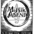 Musikabend 3/2004
